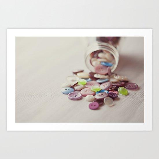 Need Buttons? Art Print