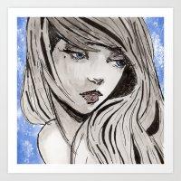 Kloe Art Print