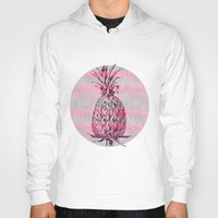 pineapple Hoodies featuring Pineapple by LebensART