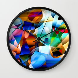 out of shape Wall Clock