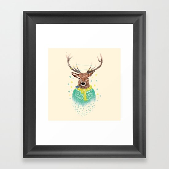 Wonder Deer Framed Art Print