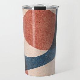 ABSTRACT ALPHABET / Gothic F Travel Mug