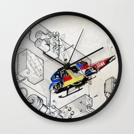 Heli Wall Clock