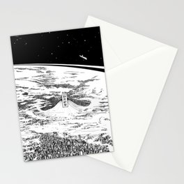 Space upon us Stationery Cards
