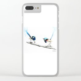 Last Goodbye Clear iPhone Case