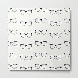 Sunglasses pattern Metal Print