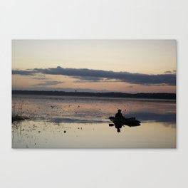 Hunting the lonely Waters Canvas Print