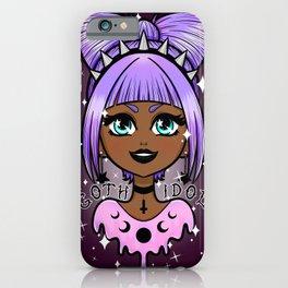 Goth Idol iPhone Case