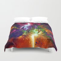 chaos Duvet Covers featuring Chaos by Robin Curtiss