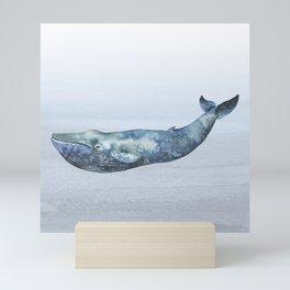 Deep Sea Whale Mini Art Print