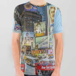 Times Square III Special Edition I All Over Graphic Tee