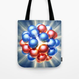 Nuclear fission Tote Bag