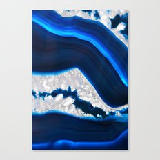 Electrical Agate Canvas Print
