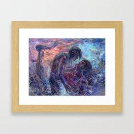 Master of the Mountain Roads Framed Art Print