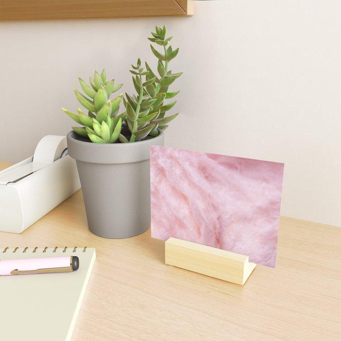 Light Pink Cotton Candy Mini Art Print