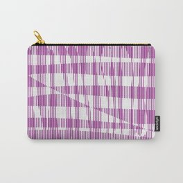 Purple/Violet Pattern Carry-All Pouch