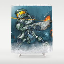 HALO / MASTER Ch Shower Curtain
