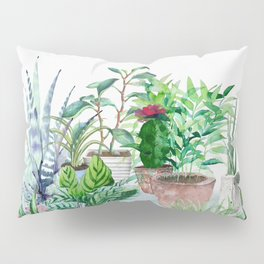 Plants 2 Pillow Sham