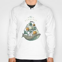 clockwork orange Hoodies featuring Whale | Petrol Grey by Seaside Spirit