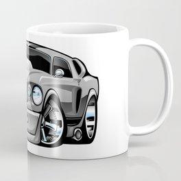 Classic Sixties American Muscle Car Cartoon Coffee Mug