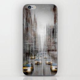 City-Art NYC 5th Avenue Traffic iPhone Skin
