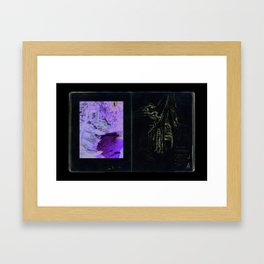 Given enough time, nature will win Framed Art Print