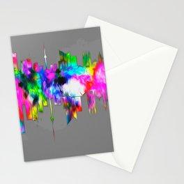 City skyline  014 03 03 17 Stationery Cards