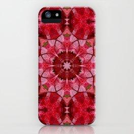 Cranberrybush Viburnum mandala iPhone Case