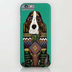 Basset Hound jade Slim Case iPhone 6