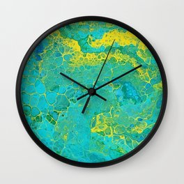 Lilly Pond 3 Wall Clock