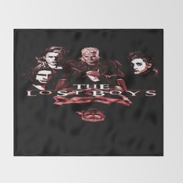 My Lost Vampires Throw Blanket