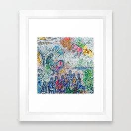 Chagall Framed Art Print