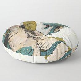 Murènes de Combat 2016 Floor Pillow