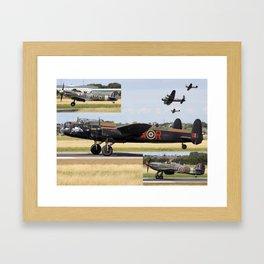 Battle Of Britian Memorial Flight Framed Art Print
