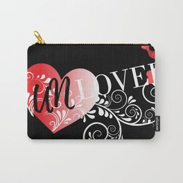 Unloved Dark Carry-All Pouch
