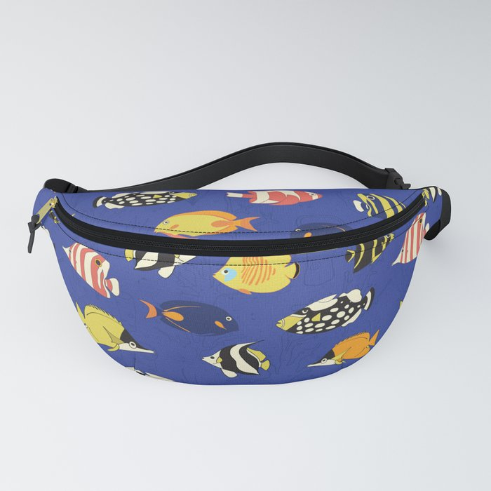 Exotic School Of Reef Fish Fanny Pack