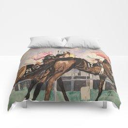 Stretch Run Comforters