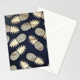Pineapple wrapping Stationery Cards