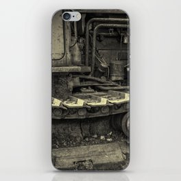 Tracks of the Warped Earth Mover iPhone Skin