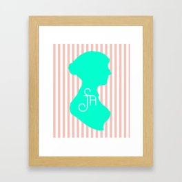 It Stands for Jane Austen, Obviously Framed Art Print