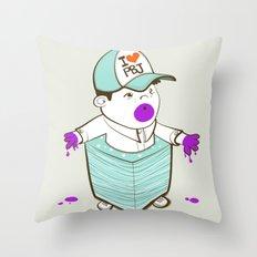 Napkinpants Throw Pillow