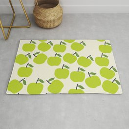 Green Apple Pattern Rug