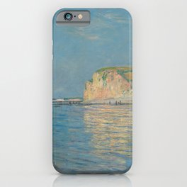 Low Tide at Pourville, near Dieppe, 1882 iPhone Case