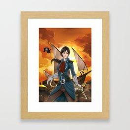 Black Gold #1 Cover Art Framed Art Print