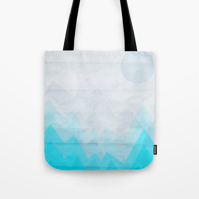 Ice Mounts Tote Bag
