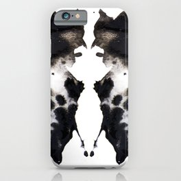 Rorschach No.1 iPhone Case
