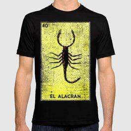 El Alacran Mexican Loteria Bingo Card T-shirt