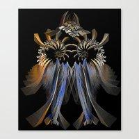 transformer Canvas Prints featuring Transformer by Brian Raggatt