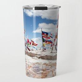 Salar de Uyuni International Flags Travel Mug