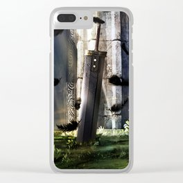 A Hero's sword Clear iPhone Case